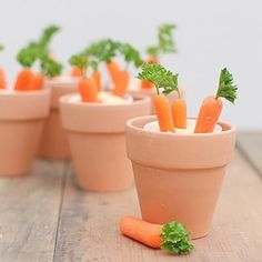 Carrots and Hummus.