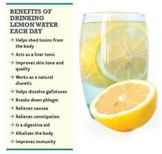 Blender Babes Juice Cleanse Daily Recipes - The Health Benefits of Drinking Lemon Water every day