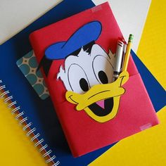 Donald Duck Book Cover
