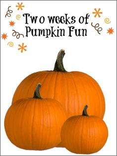 pumpkin and fall theme for toddlers
