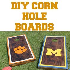 Make your own Corn Hole Game Board and $ave $$$$