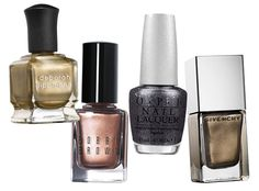Get Ready for Fall with New Mani Colors - Antique Metallics from #InStyle
