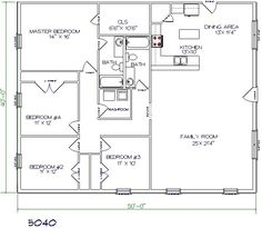 Two story barndominiums plans joy studio design gallery for 40x40 2 story house plans