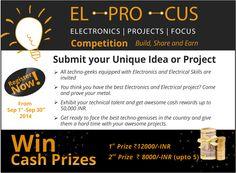 Elprocus Event for #Engineering Professionals & Win upto 50,000 INR