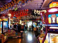 Arcadia, Planet Fun. Located at the Gatlinburg Space Needle.