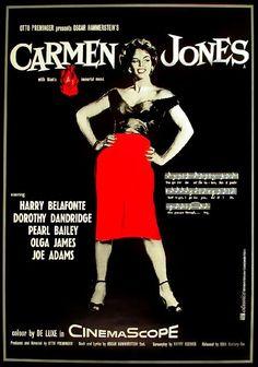 Carmen Jones - Dorothy Dandridge - Harry Belafonte - Pearl Baily -Olga James - Joe Adams - 1954