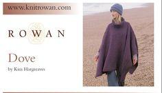 Dove Poncho in Rowan Tweed