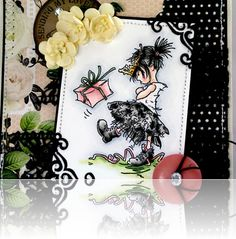 handmad card, card fanci