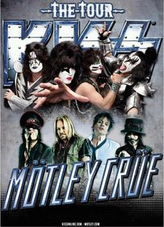 "Covering ""The Tour,"" Kiss and Motley Crue , Alpine Valley, Sept  2012 -Kellie Levans Milwaukee Rock Music Examiner  http://www.rockingfunmusic.com @kidkel69@sixx65roxx"