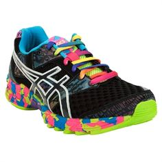 Asics Gel-Noosa Tri 8 Running Shoe   In love with this colorful shoe! Having these would actually make me want to workout lol!