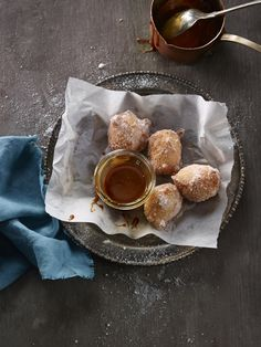 Liberté Quark Cheese Fritters with Salted Butter Caramel