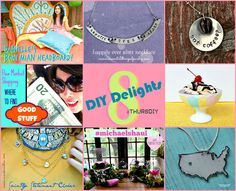 8 DIY Delights with a little something for everyone! #ThursDIY