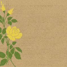 flower notebook ledger paper {free download}