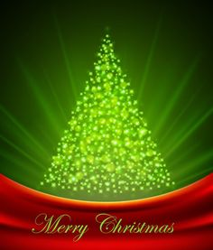 free christmas background clipart | Christmas Tree from Light Vector Background | Free Vector Graphics ...