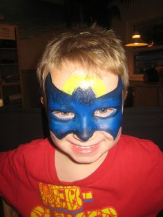 Batman Facepaint...