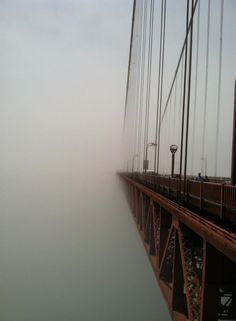 fog, francisco bridg, bridges, san francisco