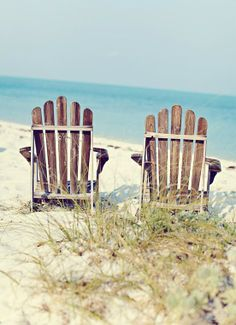 adirondacks on the beach
