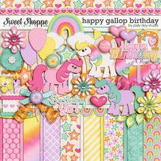 Happy Gallop Birthday by Jady Day Studio