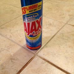 For the next time I clean my ceramic floor... In a couple years... A $1 can of Ajax is a miracle worker.