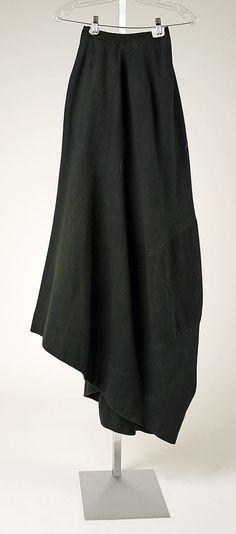 Riding Habit (Skirt): 19th century, British.