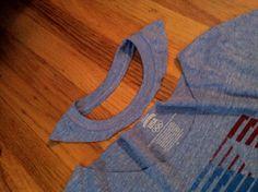DIY How to cut a T-shirt