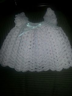 Free Crochet Angel Wing Dress Pattern : Crochet?Baby?Dresses on Pinterest Baby Dresses, Crochet ...