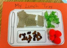 Lunch Tray Sensory Activity