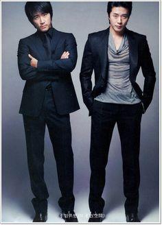 song seung heon and kwon sang woo