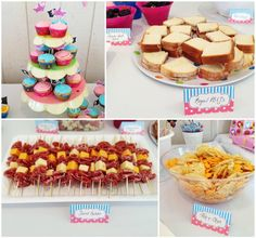 Great small bite ideas for Princess Pirate theme since the Kid told me she wants a Princess party for her birthday.