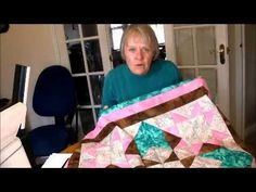 How to quilt - star corona quilt pattern video