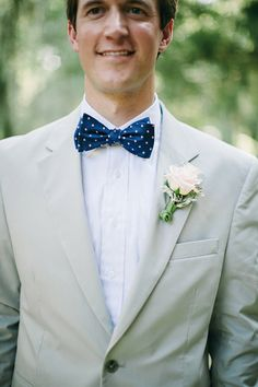 dapper in dots, what a smart bow tie!