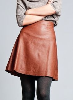 Leather A-Line Skirt beauti skirt, woman fashion, fashion shoes, girl fashion, leather skirts, leather alin, girls shoes, leather shoes, alin skirt