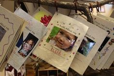'Books About Me' from Children's Garden of Learning - like how they are displayed