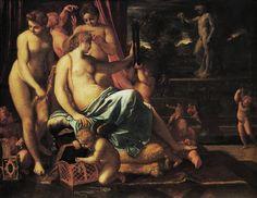 Annibale Carracci, circa 1594. I love the Caracci brothers!!