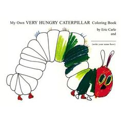My Own Very Hungry Caterpillar -- the original book, but printed with line drawings for coloring.  (I didn't have time to order these, but did end up making my own activity book with printouts to use as favors!)