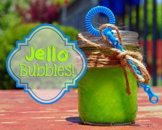 SaltTree: Jello bubbles for kids!  I wish I'd known about this when I wrote my Bubble Bonanza unit for Teacher's Pay Teachers!