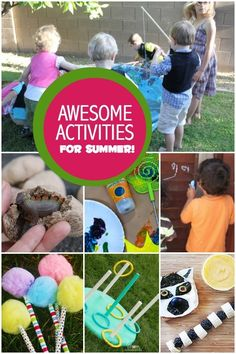 14 Summer Activities for Kids - Spaceships and Laser Beams
