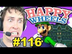 Happy Wheels - LUIGI'S MANSION