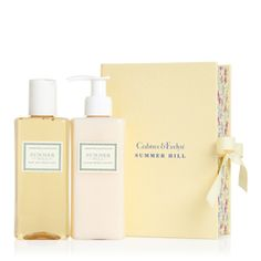 """Anything """"Summer Hill"""" from Crabtree & Evelyn -  esp.  shower gel & lotion Perfect Pair"""