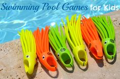 Swimming Pool Games for Kids: SwimWays Pool Toys