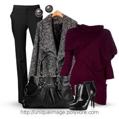 Winter Outfit #11, created by uniqueimage on Polyvore
