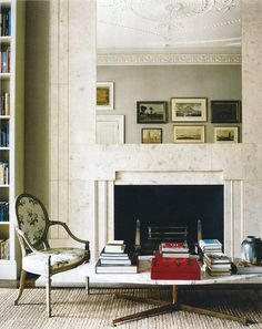 gorgeous fireplace architecture // Veere Greeney