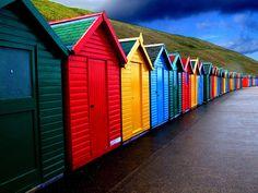Colour in the rain by Shertila Tony, via Flickr