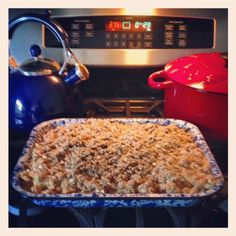 appl crisp, bake, butter appl, treat recip, fall treats, apples, peanut butter, amaz food, dessert