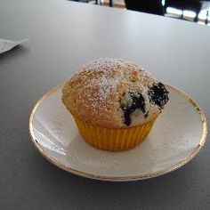 Pat's Healthy Blueberry Muffins