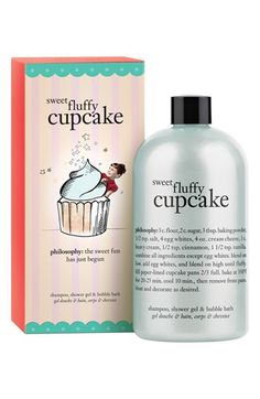 philosophy 'sweet fluffy cupcake' shampoo, shower gel & bubble bath available at #Nordstrom