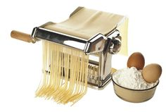 Make your own pasta, it is fun and delicious.