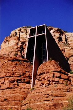 church design, sedona arizona, catholic churches, rock, roman, place, sedona az, united states, cross