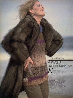 """Irresistible!"", Vogue US, September 1980  Photographer : Arthur Elgort  Model : Kelly Emberg"