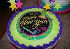 new year eve cake decorations